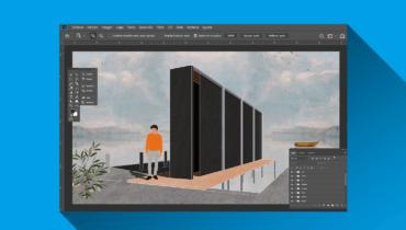 Ilustración arquitectónica de perspectivas con Photoshop