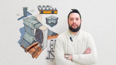 Color digital para dibujos arquitectónicos