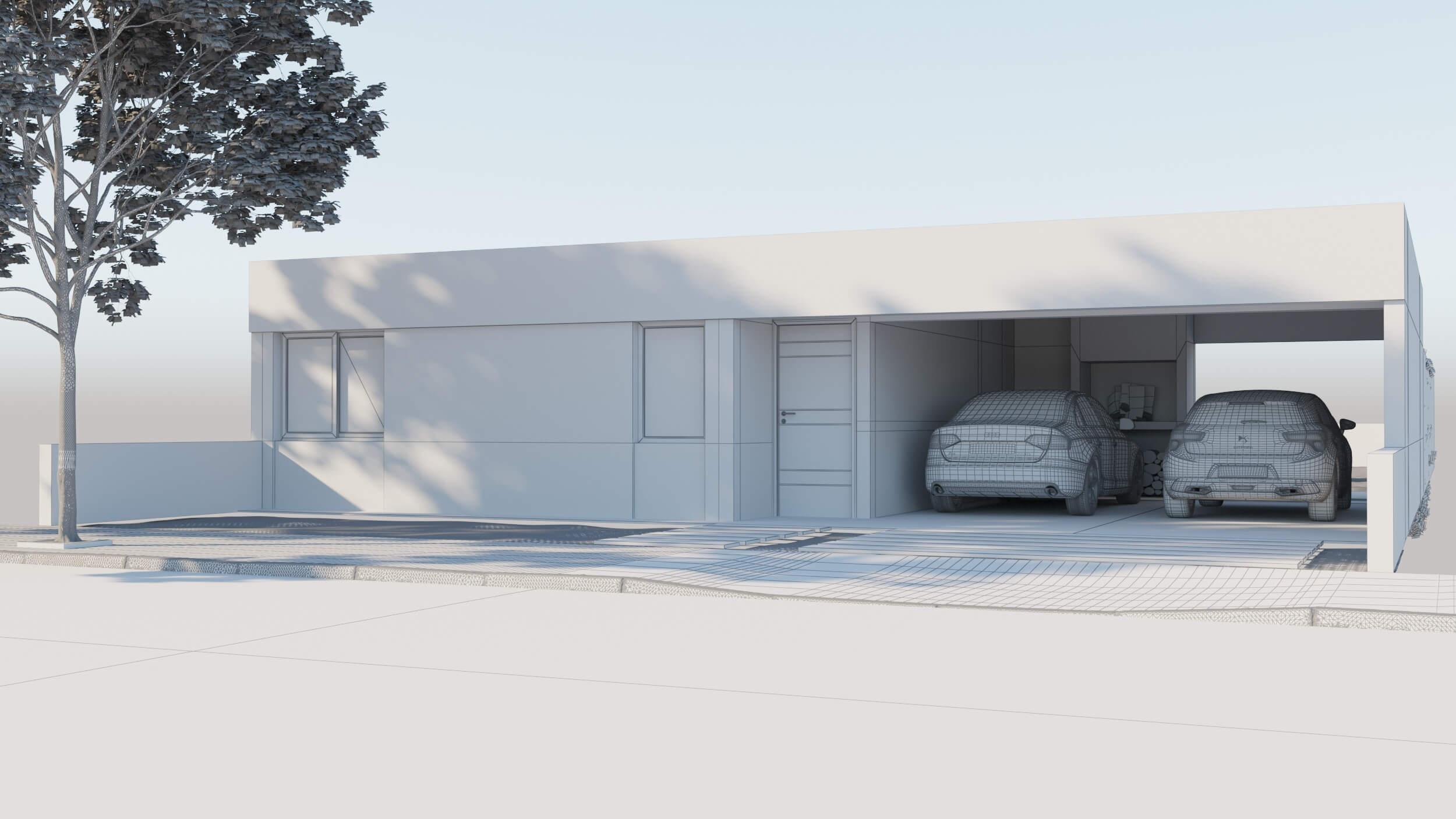 Modelado arquitectónico básico con 3ds Max - Modelo 2