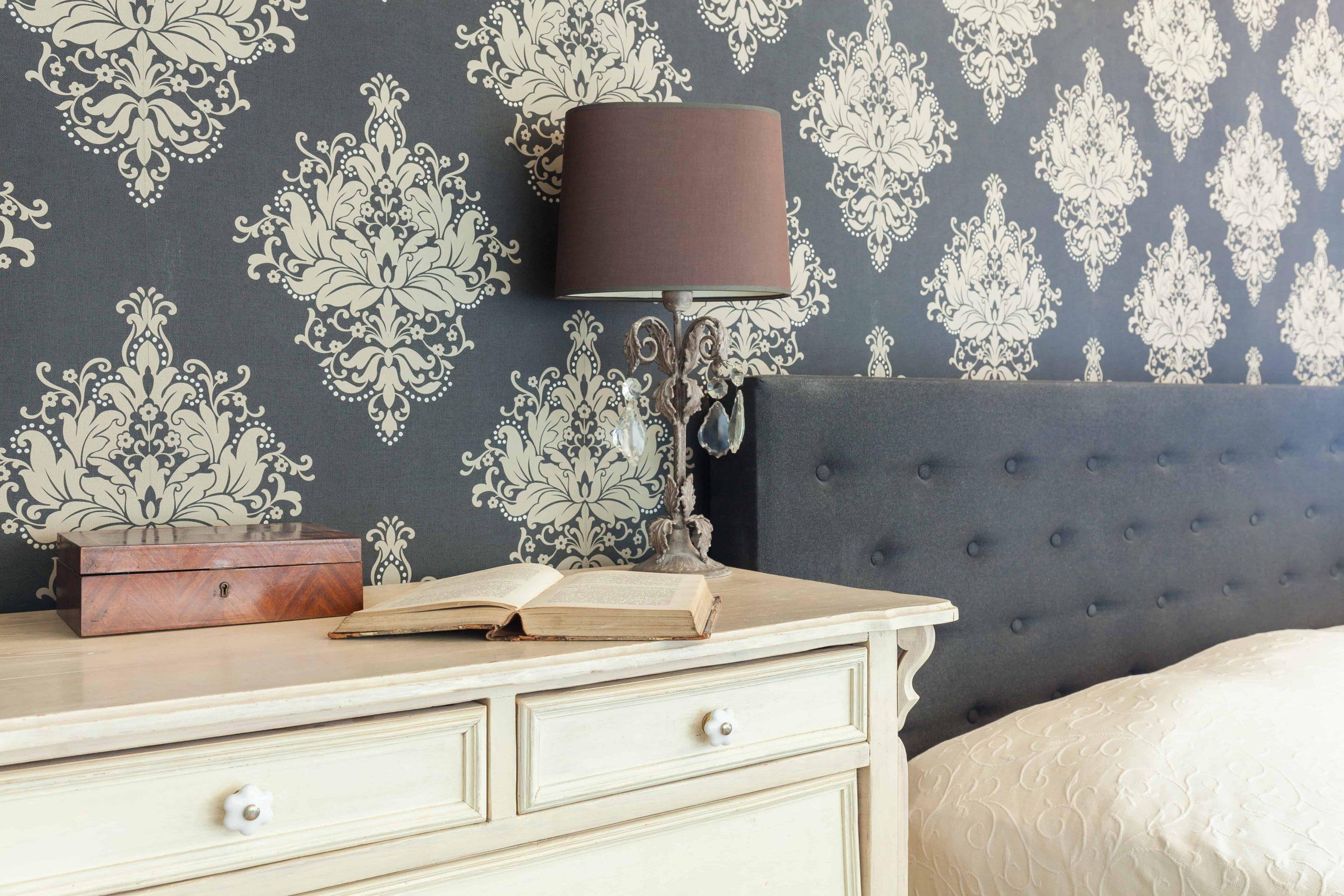 Acabado para interiores en papel tapiz