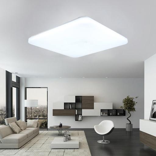 Ejemplo iluminación general en interiores.