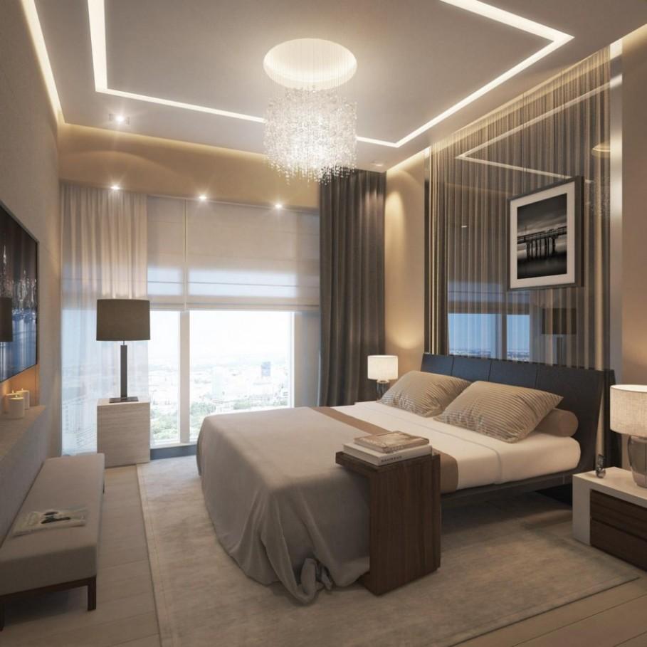 Ejemplo de iluminación decorativa en interiores.