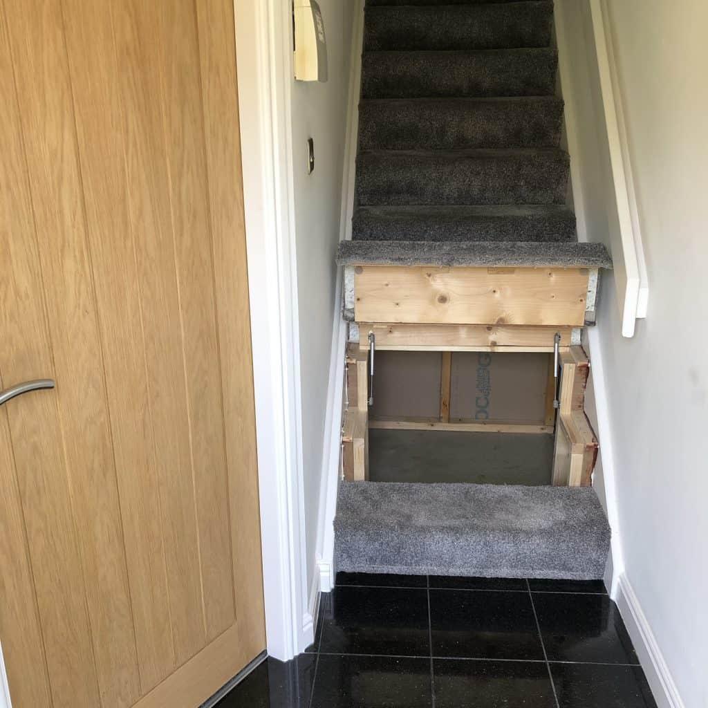 Muebles inteligentes: Escalera
