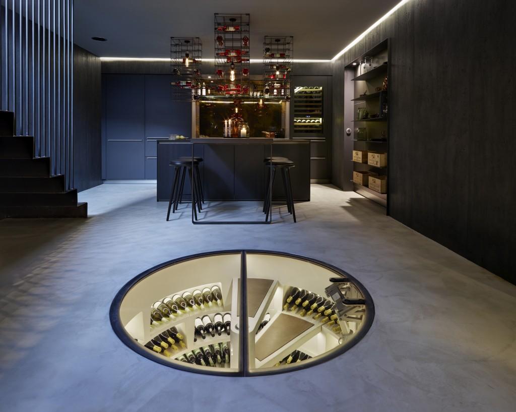Muebles inteligentes: Bodega de vinos. Fuente: Vinopack.