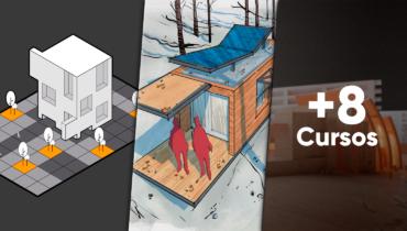 Mega pack de Representación gráfica para proyectos de arquitectura