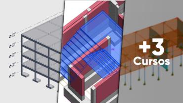 Especialidad de modelado y gestión de estructuras BIM con Revit Structure 2021