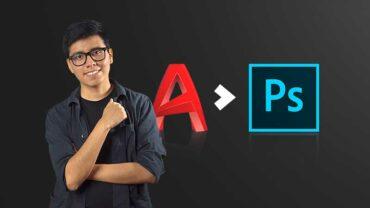 Integración de AutoCAD a Photoshop